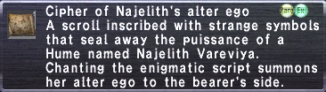 Cipher Najelith