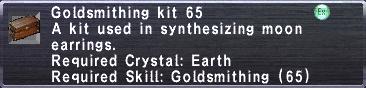 Goldsmithing Kit 65