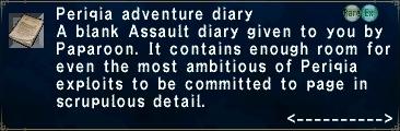 Periqia Diary