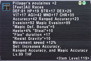 Pillager's Poulaines +2