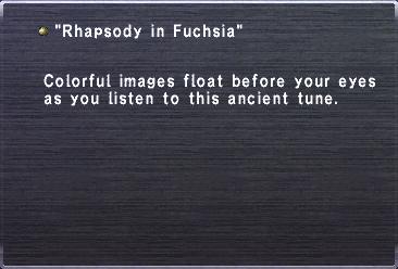 Rhapsody in Fuschia