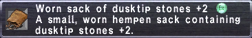 Worn Sack (DT+2)