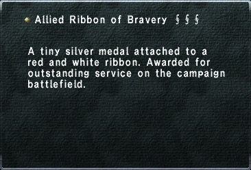 Allied Ribbon of Bravery