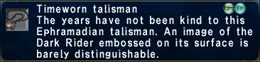 Timeworn Talisman