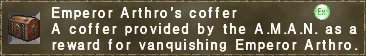 Emperor Arthro's coffer