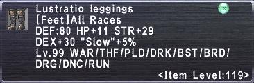 Lustratio Leggings