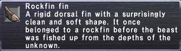 Rockfin Fin