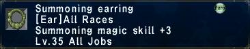 Summoning Earring