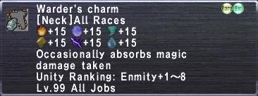 Warder's Charm