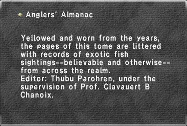Anglers' Almanac