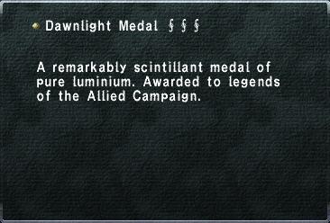 Dawnlight Medal