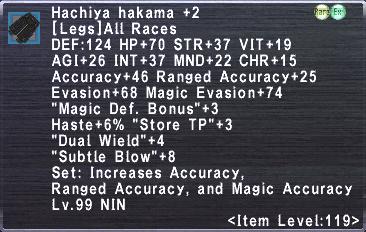 Hachiya Hakama +2