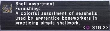 Shell Assortment