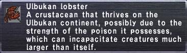 Ulbukan Lobster