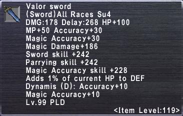 Valor Sword