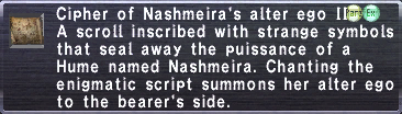 Cipher-Nashmeira II