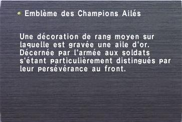 Emblème des Champions Ailés