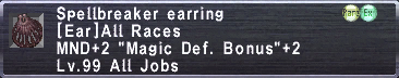 Spellbreaker Earring