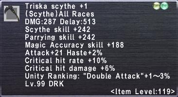 Triska Scythe +1