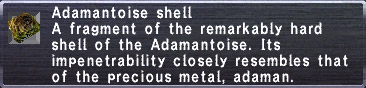 Adamantoise Shell