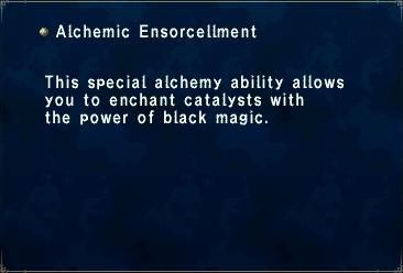 Alchemic Ensorcellment
