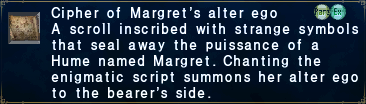 Cipher-margret