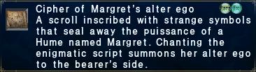 Cipher-margret