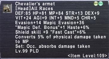 Chevalier's Armet