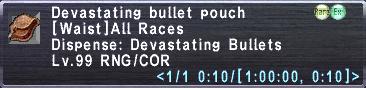 Devastating Bullet Pouch