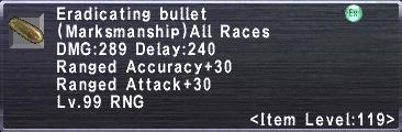 Eradicating Bullet