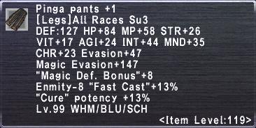 Pinga Pants +1