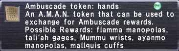 Ambuscade Token Hands
