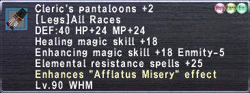 Cleric's Pantaloons +2 (Augmented)