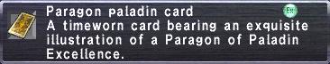 Paragon Paladin Card