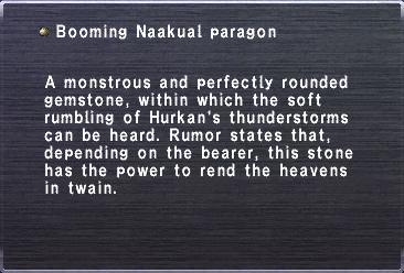 Booming Naakual paragon