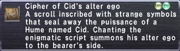 Cipher Cid