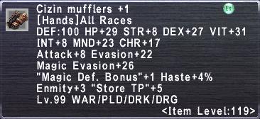 Cizin Mufflers +1