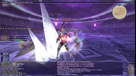 Herculean Slash - Final Fantasy XI Great Sword Weapon Skill 4K
