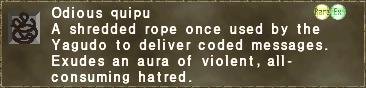 Odious quipu