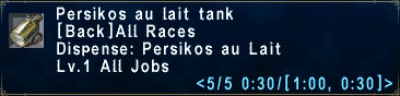 Persikos Tank