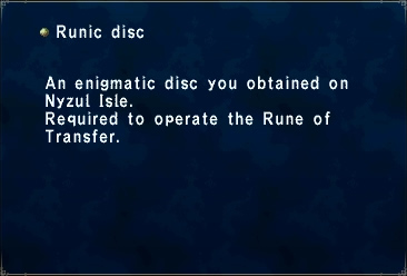 Runic Disk