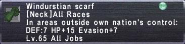 Windurstian scarf