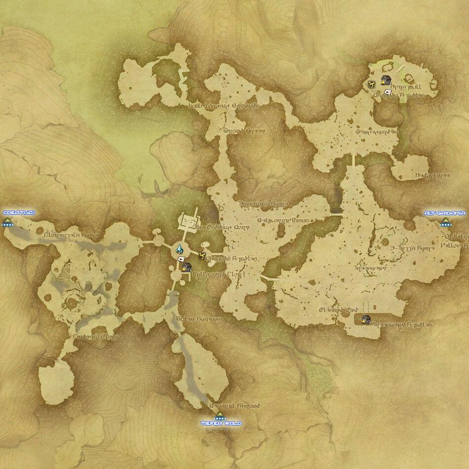 Nordwald/Maps   FFXIV - A Realm Reborn Wiki   FANDOM powered by Wikia