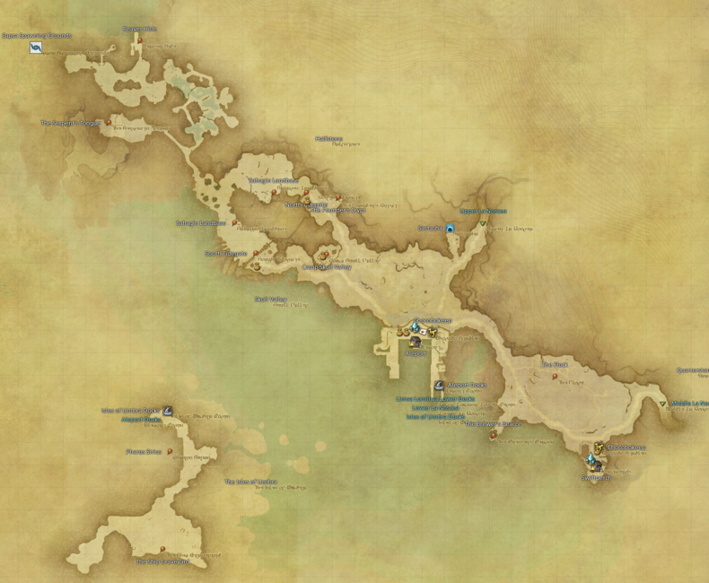 Ffxiv Fishing Holes Map - Hole Photos In The Word