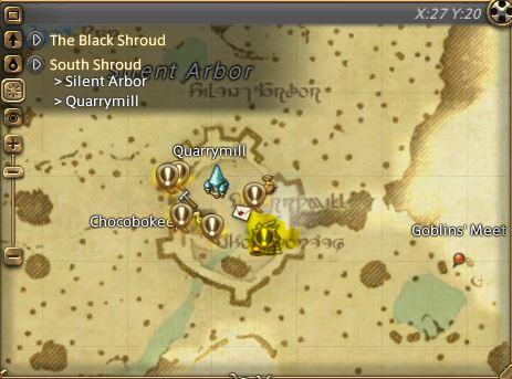 Image - Meffrid - South Shroud-Map.JPG | Final Fantasy A Realm ...