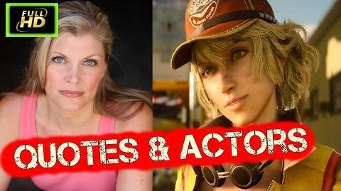 Final Fantasy 15 Voice Actors - Final Fantasy Quotes Cutscenes