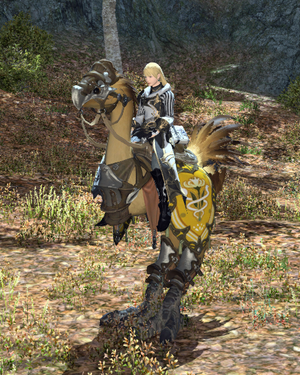 Company chocobo mount