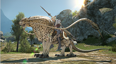 a realm reborn how to get a mount