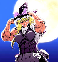 Merry's full muscular body