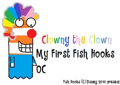 Clowny the Clown Fish Hooks OC